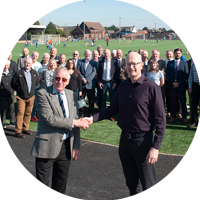 New 3G Pitch at Newtown Park, Bo'ness for Newtown Park Association